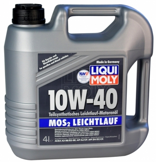 liqui moly mos2 leichtlauf 10w40 2627 4l ulei motor. Black Bedroom Furniture Sets. Home Design Ideas